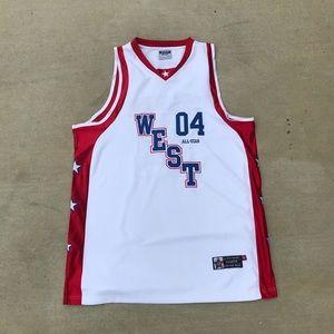 Other - West 04 All Star Jersey NBA 2XL Jordan Bare Fox